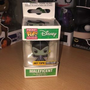 Maleficent Funko Keychain